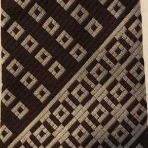 Vintage Tie - Rhodia - Woven in France